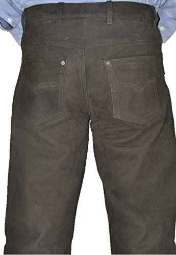 Lederprofi - Pantalon - Jambe droite - Homme Marron Marron Marron - Marron