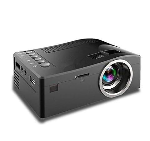 Projektoren Video Projektor 400 Lumen Unterstützung 1080P Portable PC Laptop Full HD Portable Handheld Projektor Parties Gaming