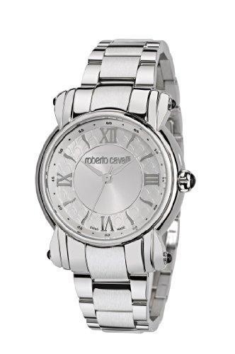 Roberto Cavalli Anniversary R7253172515 - Reloj de mujer de cuarzo, correa de acero inoxidable color plata