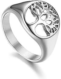 f29467be18c5 Amazon.es  Acero inoxidable - Compromiso   Anillos de boda y ...