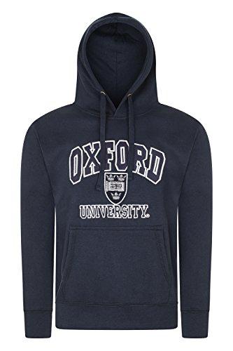 Oxford University Kapuzenpullover Men'hochwertige Offizielles Lizenz-Produkt-Farbe: Marineblau Gr. Medium, Marineblau -