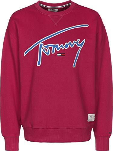 Tommy Jeans Signature Sweater Cerise -