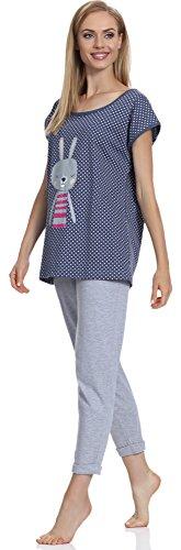L&L Pyjama Femme Boogie Navy