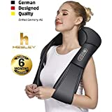 Hesley Back And Neck Massager With Heat Deep Kneading Massage For Neck, Back, Shoulder, Legs And Foot