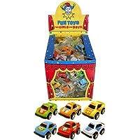 12 Mini Pull Back Race Cars - Party bag filler toys
