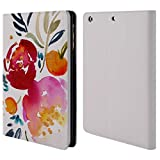 Head Case Designs Offizielle Mai Autumn Funkel Blumiges Bouquet Brieftasche Handyhülle aus Leder für iPad Mini 1 / Mini 2 / Mini 3