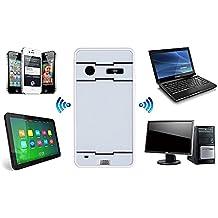 sublimagecreations® Proyector láser Bluetooth Virtual Teclado, teclado francés AZERTY. Keyboard Smartphone Tablet PC portátil, Bluetooth y USB