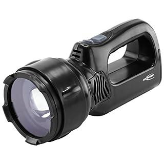 ANSMANN Arbeitsleuchte LED HSL 1 mit 3 W inkl Li-Ion Akku, Ladestation & Wechselstecker - Fokussierbare LED Handlampe ideal als Werkstattlampe Arbeitslampe Handleuchte Taschenlampe Werkstatt Jagd IP54