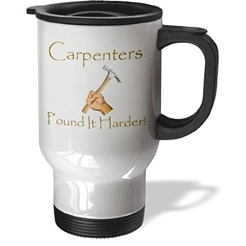 statuear charpentier 14-Ounce Tasse de voyage en acier