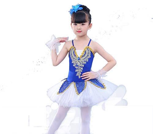 c2ec6d7fe SMACO Vestido de Ballet Chica,Faldas De Ballet para NiñOs Faldas Tutu Ropa  De PráCtica De Baile con Honda Falda Tutu Trajes De CompeticióN para ...