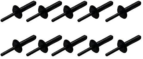 Bgs–en plastique rivets x 6,3x 25,2mm (10pièces), 1Pièces, 84634