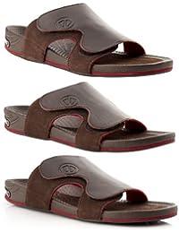 Sidas FWSA3DMLOUNGRS_AK_41 3D Lounge RS Sandales à porter au quotidien ou après une activité sportive en récupération Homme Noir