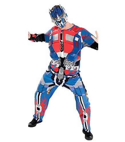 Kostüm Kostüm Erwachsene Optimus Prime Transformers * 15008Autorobot Commander, mehrfarbig Standard (Erwachsene Kostüme Optimus Prime)