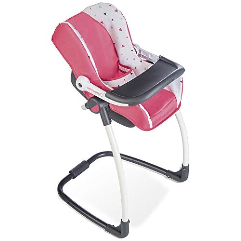 Smoby 240231 Bébé Confort Siège Chaise Haute Pour Poupon 3 En 1