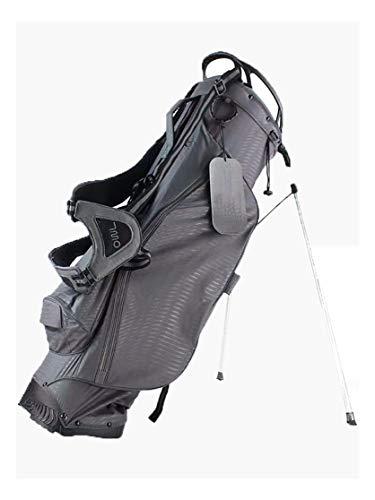 CHENG BAG Golftasche, Große Kapazität Ergonomie Wasserdicht Leichtgewicht Bracket-Tasche (Farbe : Gray) -