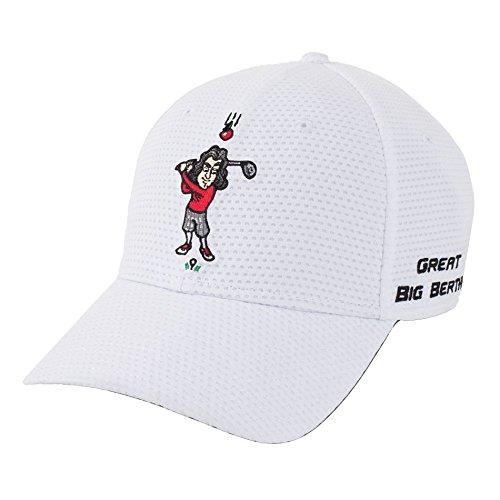 Callaway Golf 2016 Great Big Bertha Lightweight Adjustable Mens Structured Golf Cap White