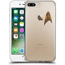 Ufficiale Star Trek Discovery Uniforme Distintivo Logo Cover Morbida In Gel Per Apple iPhone 7 Plus / iPhone 8 Plus