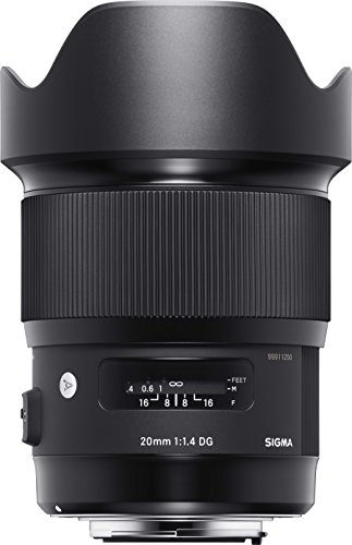 Best Saving for Sigma 20 mm F1.4 DG HSM Lens for Nikon Camera Review