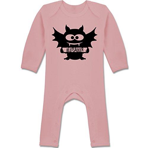 Baby - Fledermaus - 12-18 Monate - Babyrosa - BZ13 - Baby-Body Langarm für Jungen und Mädchen ()