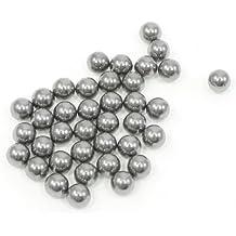 Sourcingmap a13072300ux1396 - 6mm tono de acero rodamientos de bolas de diámetro bici bicicleta plata repuestos 30 pcs