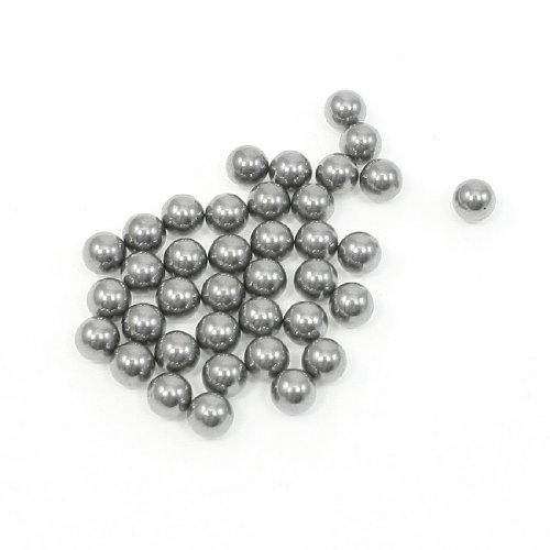 mm, Stahl, silberfarben, Ersatzteile für Fahrräder, 30Stück ()
