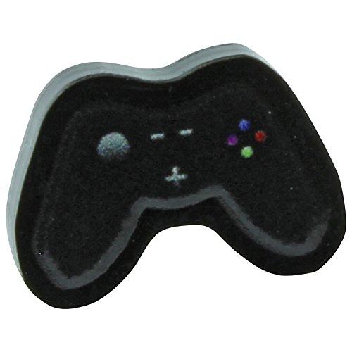 Funky Orecchino da uomo, tema: joystick da console retrò, idea regaloController di gioco ragazzi Mens orecchini Quirky regalo divertente retrò