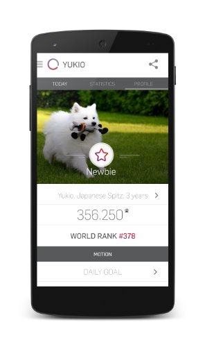 Tractive MOTION Pet Activity Tracker 7