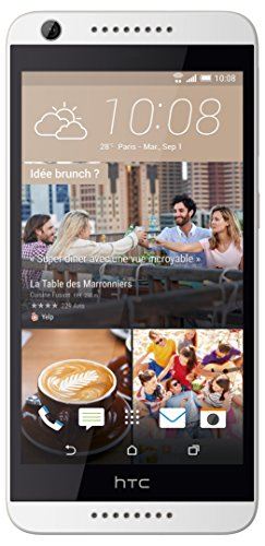 HTC Desire 626 16GB 4G Color blanco - Smartphone (SIM única, Android, NanoSIM, EDGE, GPRS, GSM, UMTS, LTE)