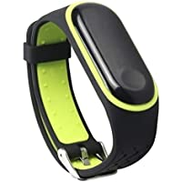 Hunpta@ Uhrenarmbänder für Xiaomi Mi Band 3 Smart Watch Robustes Ersatz Silikon Anti Off Armband