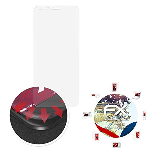 atFolix Schutzfolie passend für Allview X4 Soul Infinity Plus Folie, entspiegelnde & Flexible FX Bildschirmschutzfolie (3X)