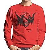 Comics Kingdom Grimmy Vampire Bat Men's Sweatshirt