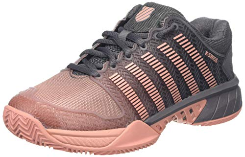 K-Swiss Performance Damen Hypercourt Express HB Tennisschuhe, Pink (Plum Kitten/Coral Almond 093-M), 38 EU -