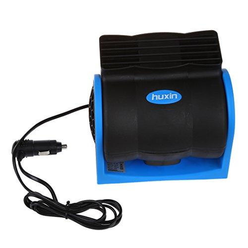 Ventilador - HUXIN 12V kfz Ventilador del coche Abanico electrico Enfriador (Ideal...