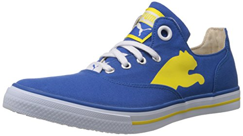 Puma Men's Limnos Cat Blue Canvas Sneakers - 6 UK/India (39 EU)  available at amazon for Rs.1489