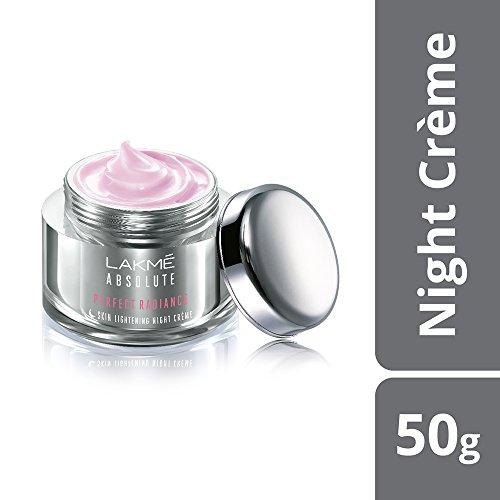 Lakme Absolute Perfect Radiance Skin Lightening Night Creme, 50g