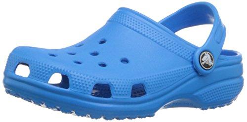 Crocs classic clog kids, sabot unisex - bambini, blu (ocean), 22/24 eu