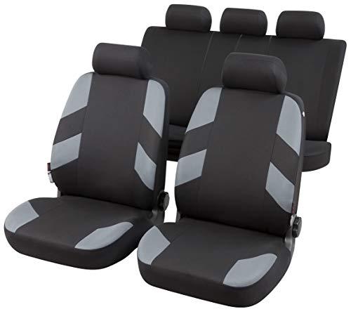 rmg-distribuzione Coprisedili per Passat Variant Versione (2011-2014 (362)) compatibili con sedili con airbag, bracciolo Laterale, sedili Posteriori sdoppiabili R04S0961