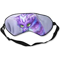 Purple Cat Green Eyes Sleep Eyes Masks - Comfortable Sleeping Mask Eye Cover For Travelling Night Noon Nap Mediation... preisvergleich bei billige-tabletten.eu