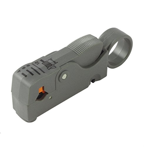 Haushaltswerkzeug Multifunktions-Drehkoaxialkabelschneider RG58 RG59 RG6 High Impact Material Abisolierzange