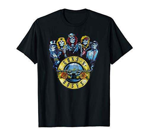 Guns N' Roses Skulls Bullet T-Shirt -