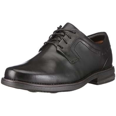 Clarks Carter Air, Chaussures de ville homme - Noir (Black), 46 EU (11 UK)
