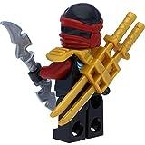 LEGO Ninjago: Minifigur Nya Skybound mit Ninja Doppelklingenschwert - 4
