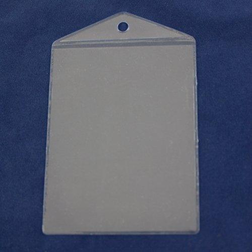 100 Ausweishüllen im A7 Format, transparent
