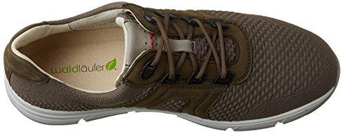 Waldläufer Haslo, Sneakers Homme Brun (Rauch Rauch)