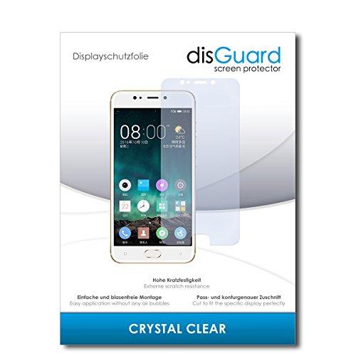 disGuard® Bildschirmschutzfolie [Crystal Clear] kompatibel mit Gionee S9 [4 Stück] Kristallklar, Transparent, Unsichtbar, Extrem Kratzfest, Anti-Fingerabdruck - Panzerglas Folie, Schutzfolie