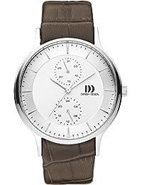 Danish Design Unisex-Armbanduhr DANISH DESIGN IQ12Q1155 Chronograph Quarz Leder IQ12Q1155