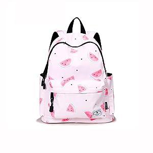 Beibao HQ Mochila Linda Mochila Escolar Moda Casual Chica Estudiante niño Viaje Rosa
