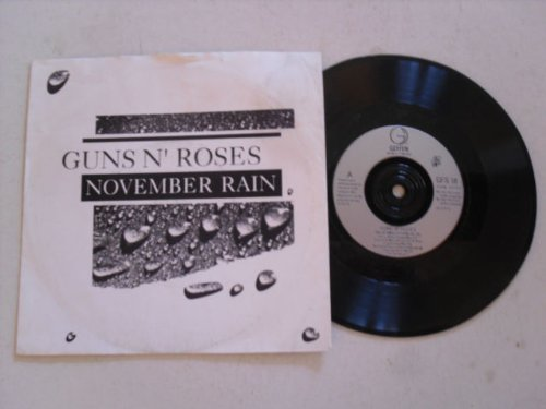november rain / sweet child o' mine 45 rpm single