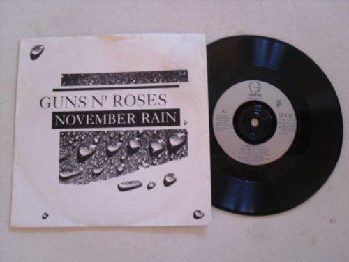 november rain / sweet child o' mine 45 rpm single