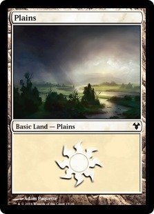 Magic Plaine - Magic: the Gathering - Plains - Modern
